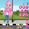 Bratz Skating with the Dog