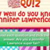 DM Quiz - Do You Know Jennifer Lawrence? icon
