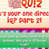 DM Quiz - What's Your One Direction IQ? Part 2!